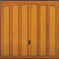 Hormann Series 2000 timber up and over garage doors Style 2008 Tudor